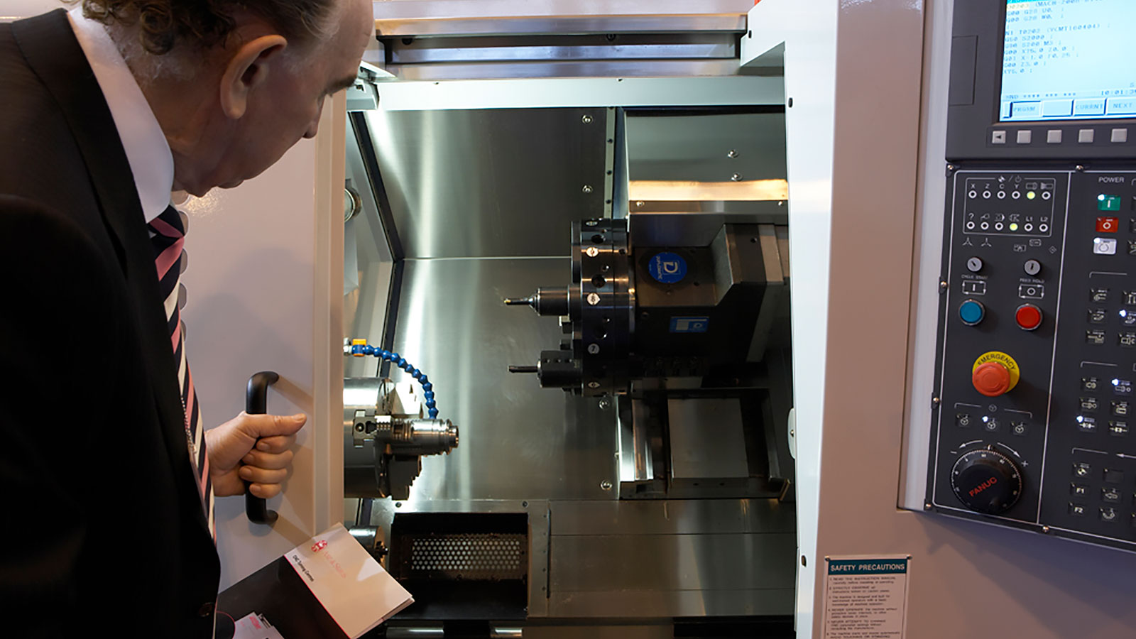 Axe and Status Accuway CNC Turning Centres