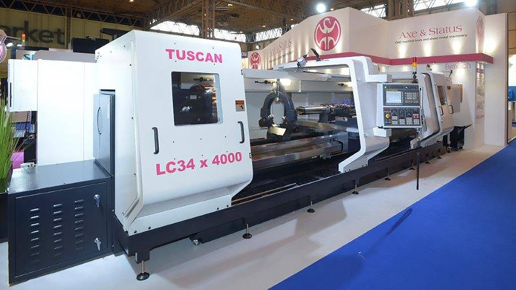Axe and Status Tuscan LC34 CNC Lathe