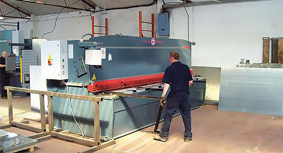 Durma punch press provided by Axe & Status is helping Walsall-based Simco External Framing Solutions