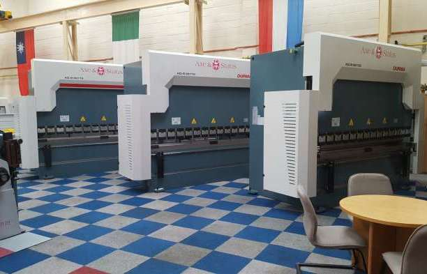 New range of innovative press brakes