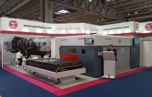 Durma fibre laser sold off the stand at MACH
