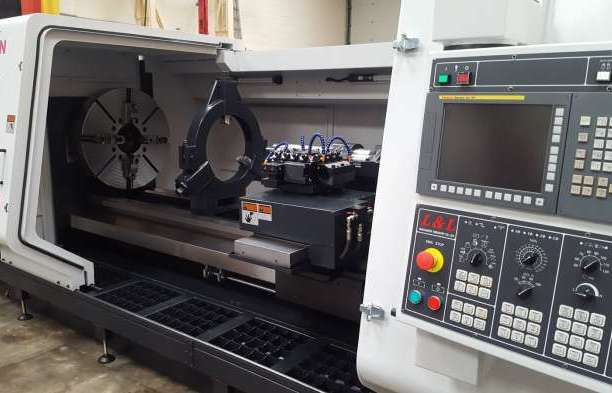 Heavy duty teach lathe with Fagor control option