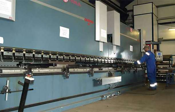 A Suffolk fabricator has just installed an 8m tandem press brake