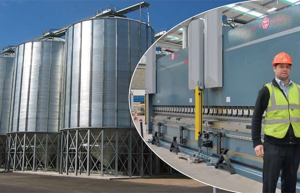 Bristol-based company installs twin-machine system for the manufacture of grain silos