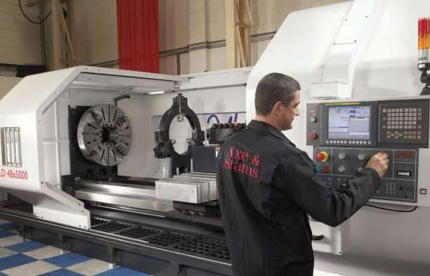 New Tuscan LD 48 CNC Lathe Arrives