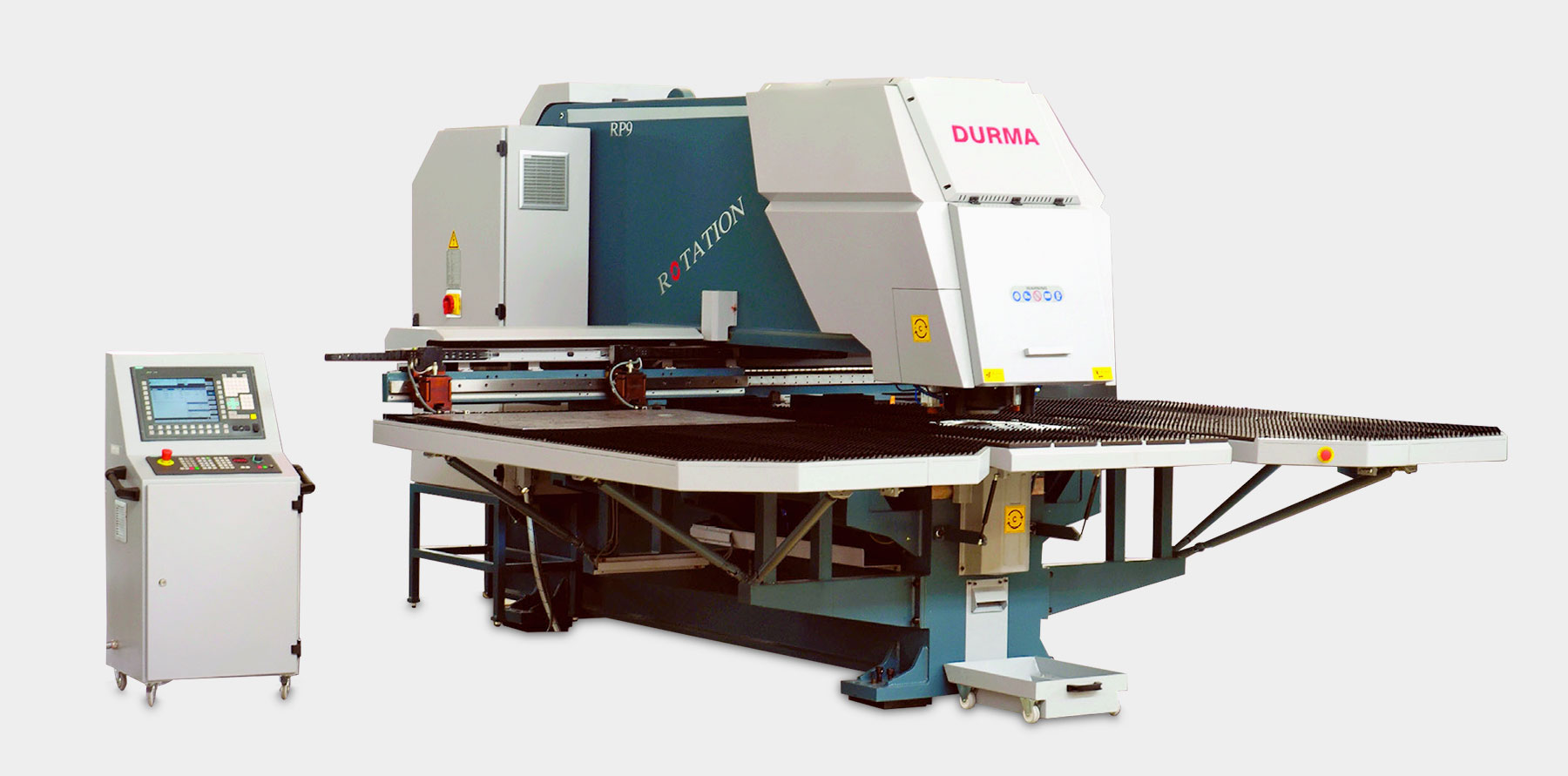 Durma Fixed & Rotation Punching Machines Durma FP/RP Series
