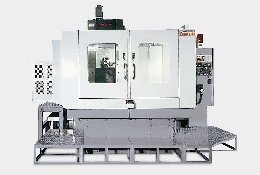 Eumach Travelling Column Milling Machines MB Series