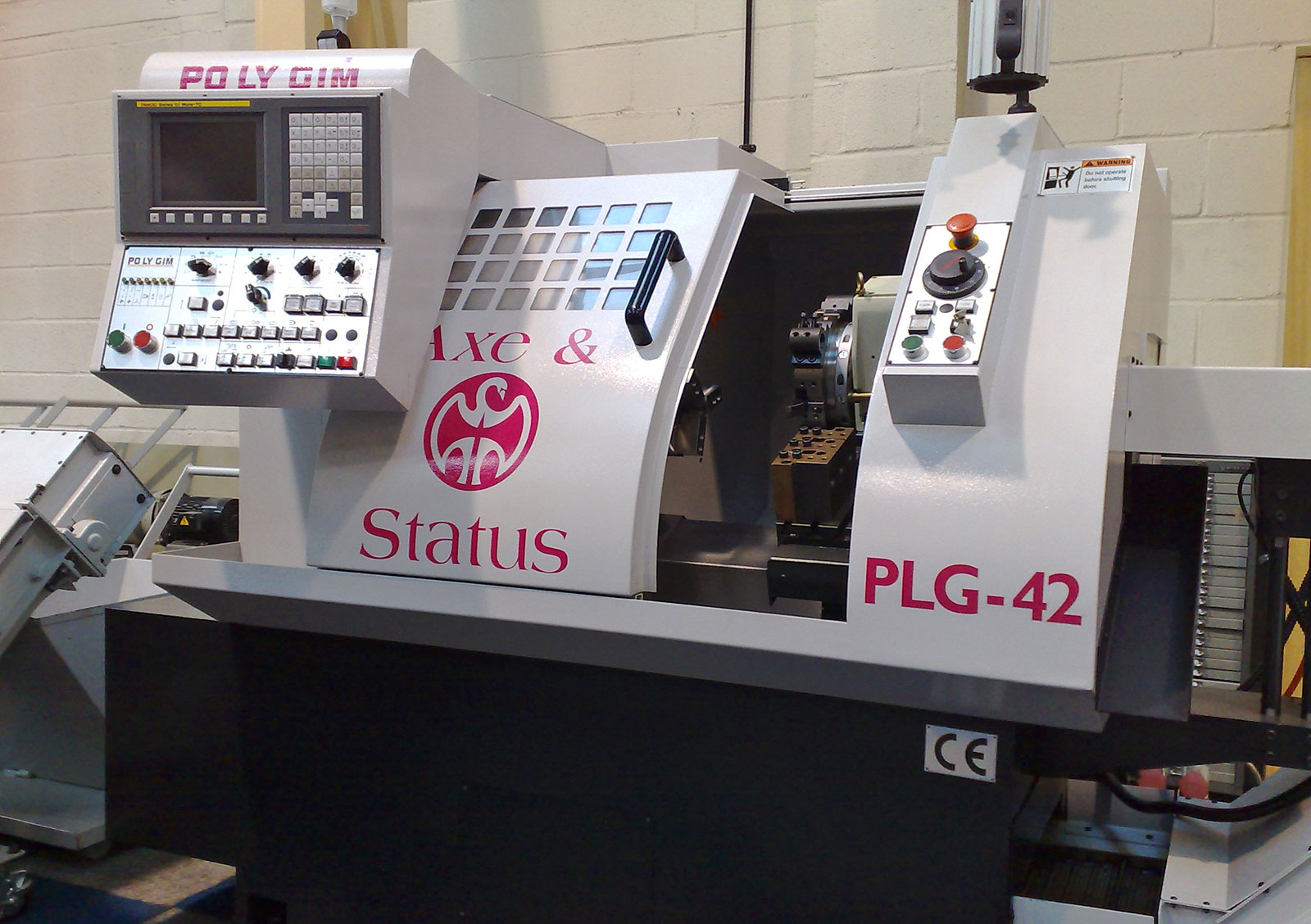 Polygim Cnc Lathes Plg 42 Cnc Lathes And Pressbrakes Cnc Machine Tools And Sheet Metal Machinery