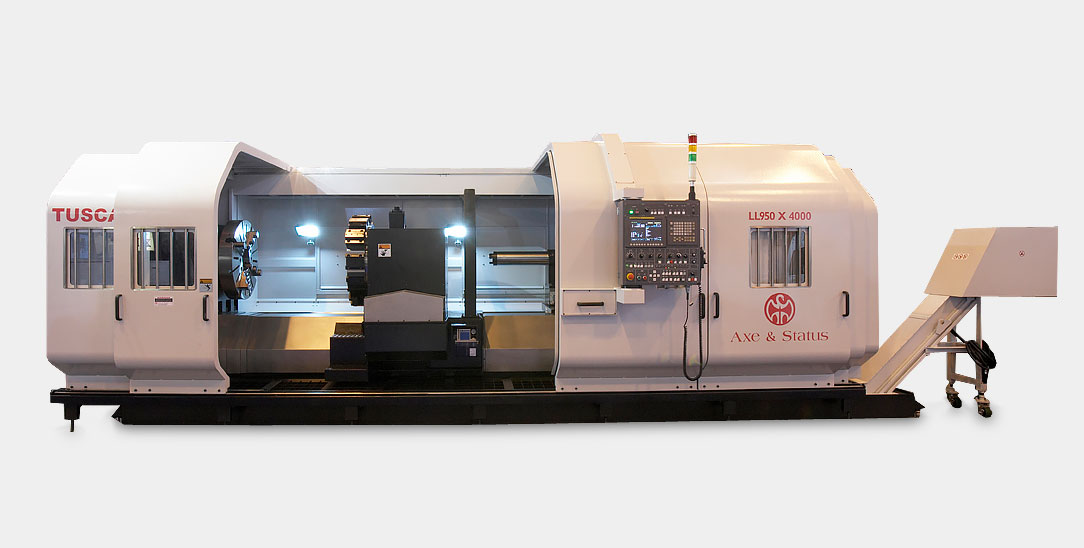 Tuscan 5 Bed Way Heavy Duty CNC Lathe LL Series