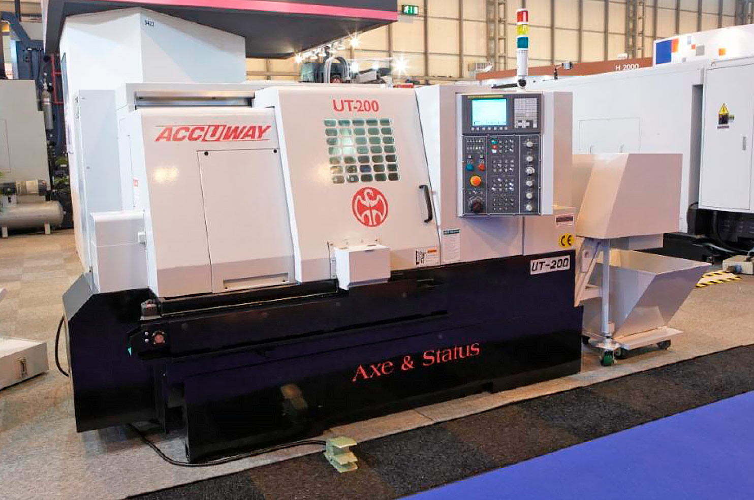 Accuway Slant-Bed CNC Turning Centre  UT 200 & 300 Series