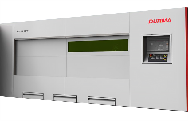 Durma HD -FO 3015 Series high speed compact laser cutting machines.