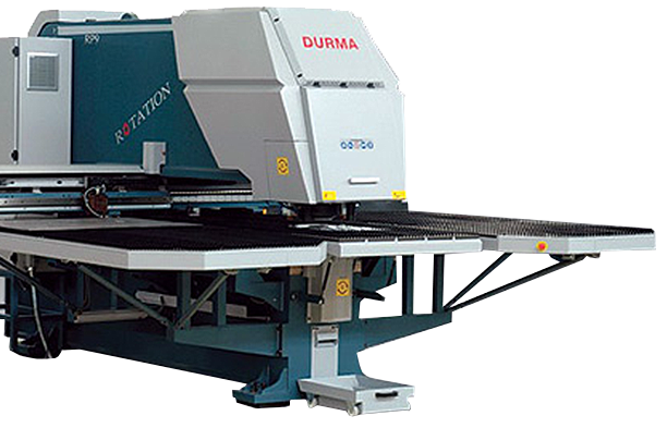 Durma fixed and Rotation Punching Machine CNC