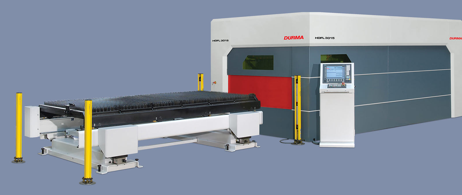 Durma Fiber CNC Laser Cutting Machine 3015 - 5 axis bevel head laser, bevel head laser - UK Supplier and Distributor
