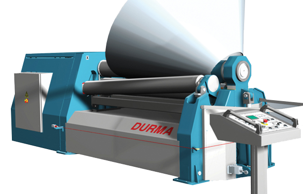 Durma Plate Roll Bending Machine CNC