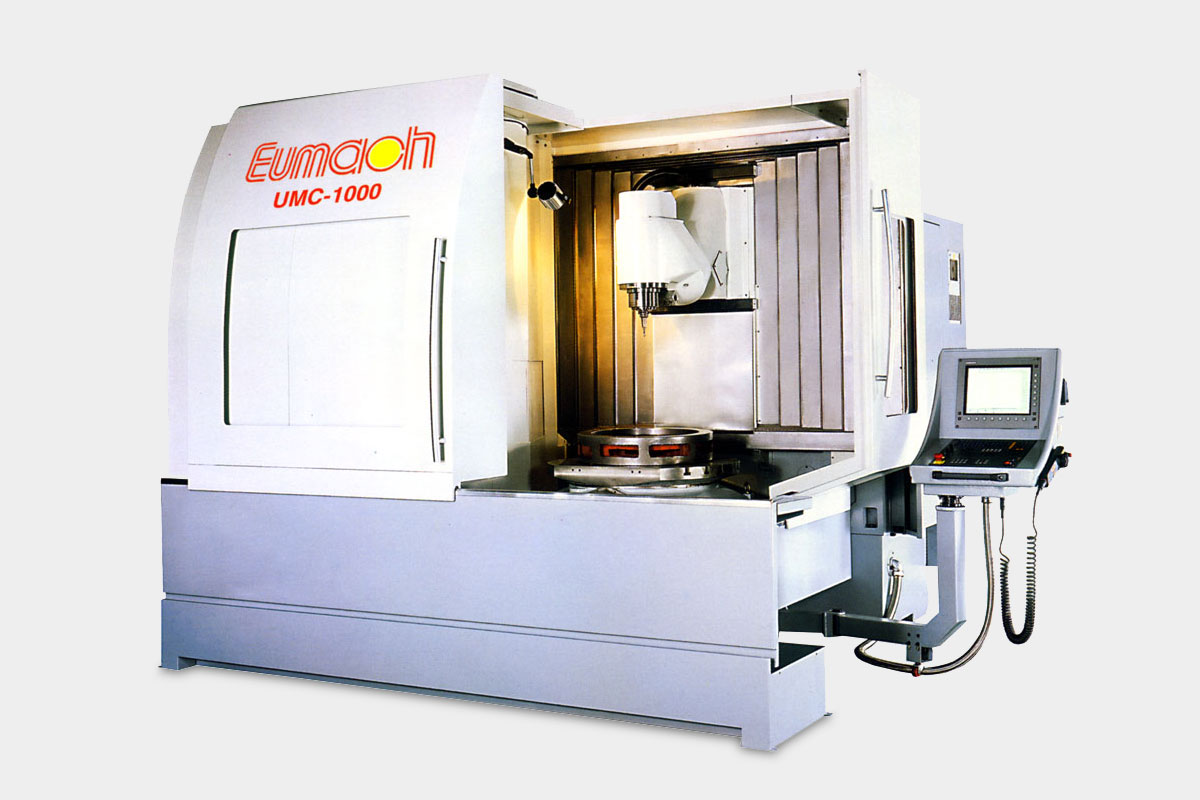 Eumach 5 Axis Universal Milling Centres