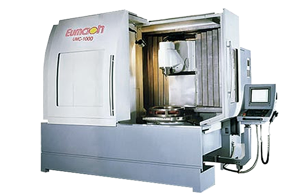 Eumach 5 Axis Universal Milling Centres UMC Series