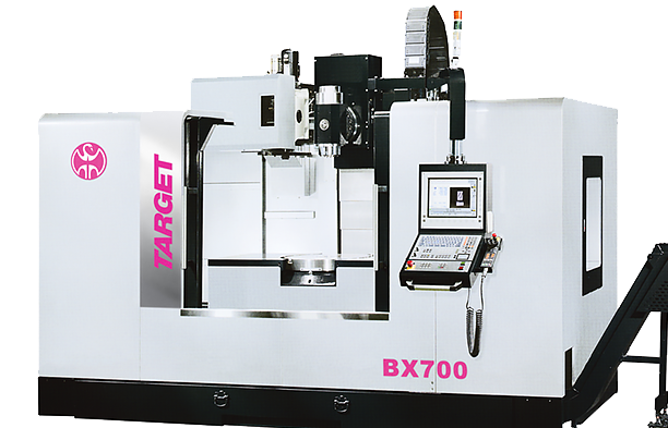 Target 5-Axis Machining Centre BX Series