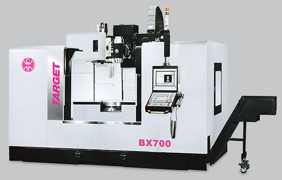 Target 5-Axis Machining Centre
