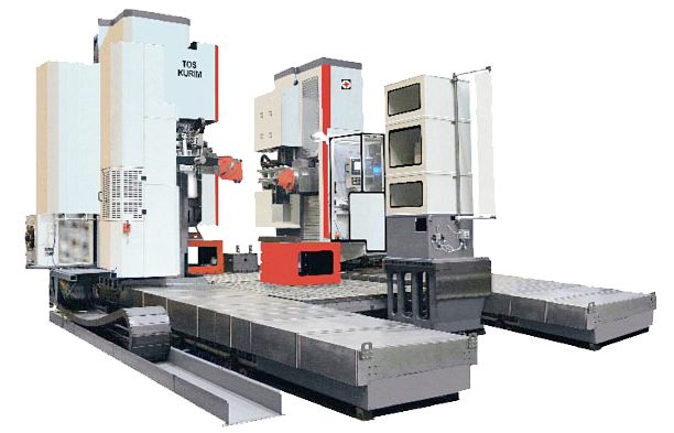 Tos Kurim Heavy Duty machining Centres FUT Series
