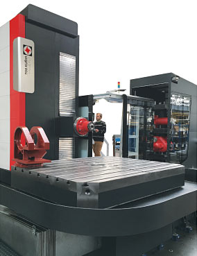 Tos Kurim Heavy Duty Machining Centres