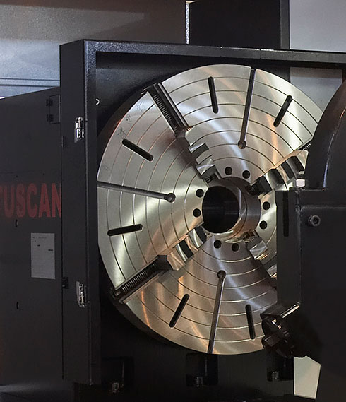 Tuscan Large CNC Facing Lathe-LFM series
