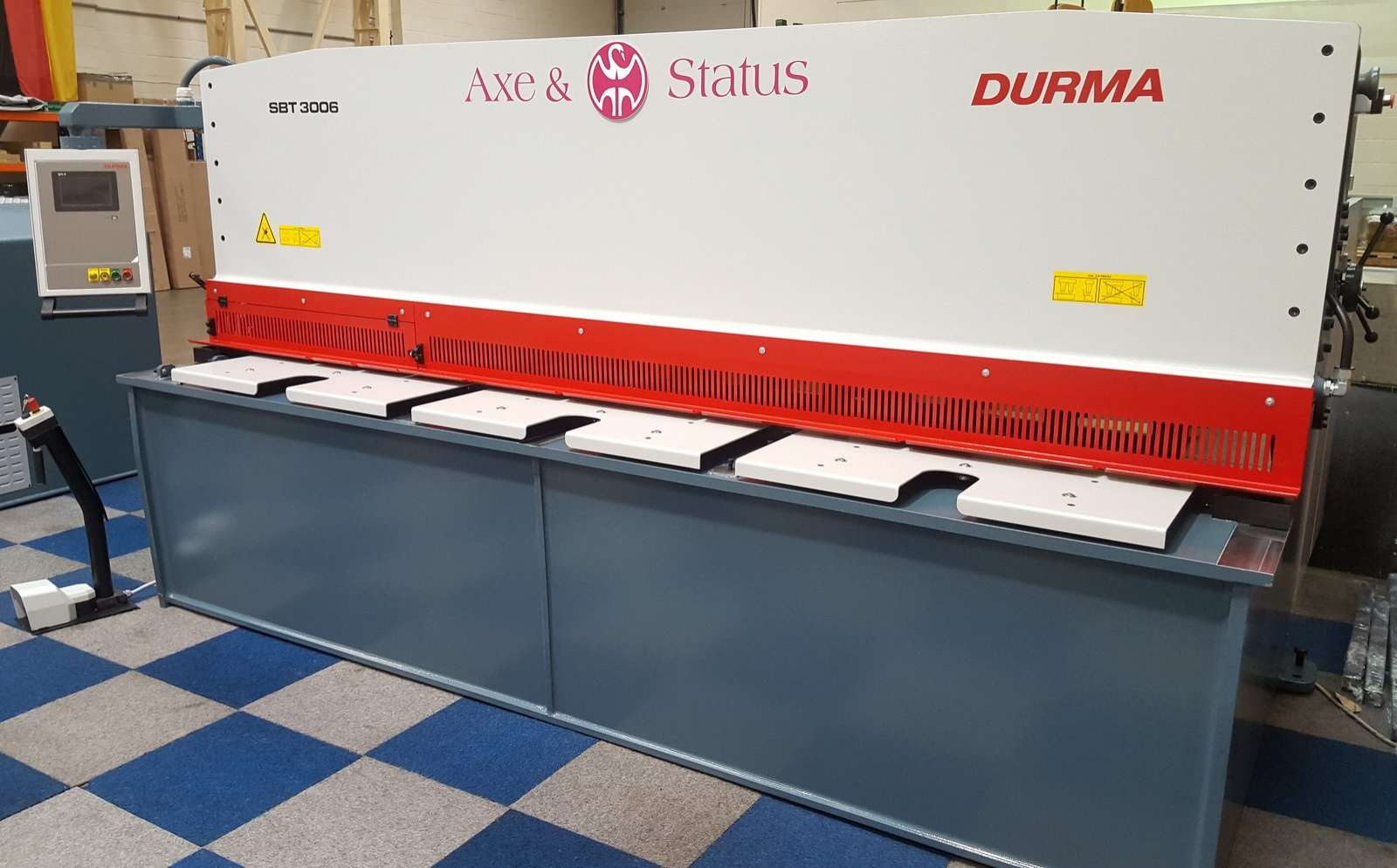 DURMA SBT 3006 HYDRAULIC SWING BEAM GUILLOTINE special offer