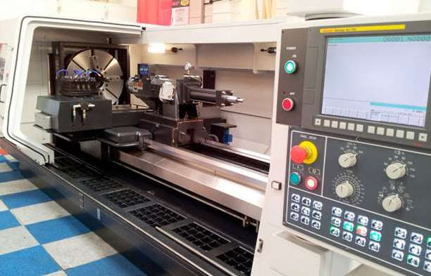 TUSCAN LC34 X 4000  CNC LATHE WITH FANUC Oi TD CONTROL