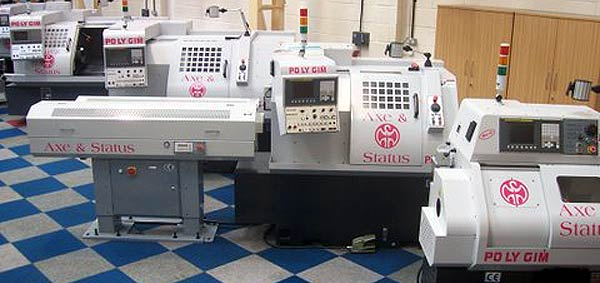 Polygim Swiss Type CNC Sliding Head Lathes